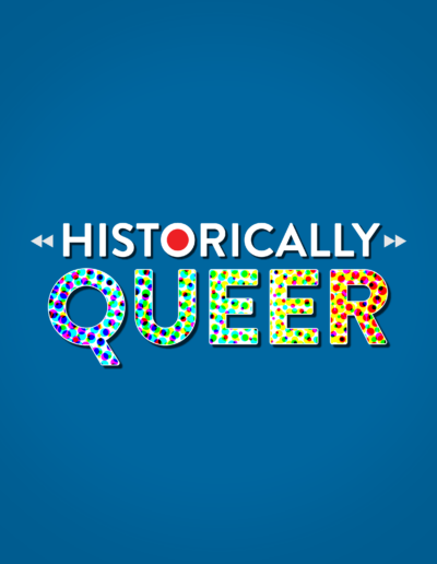 Historically Queer Podcast Logo